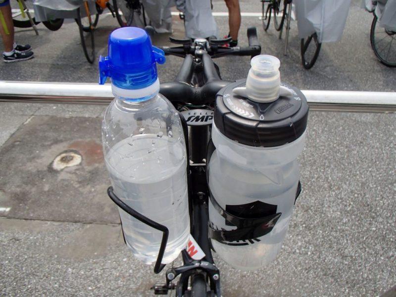 バイク預託時のボトルの状況