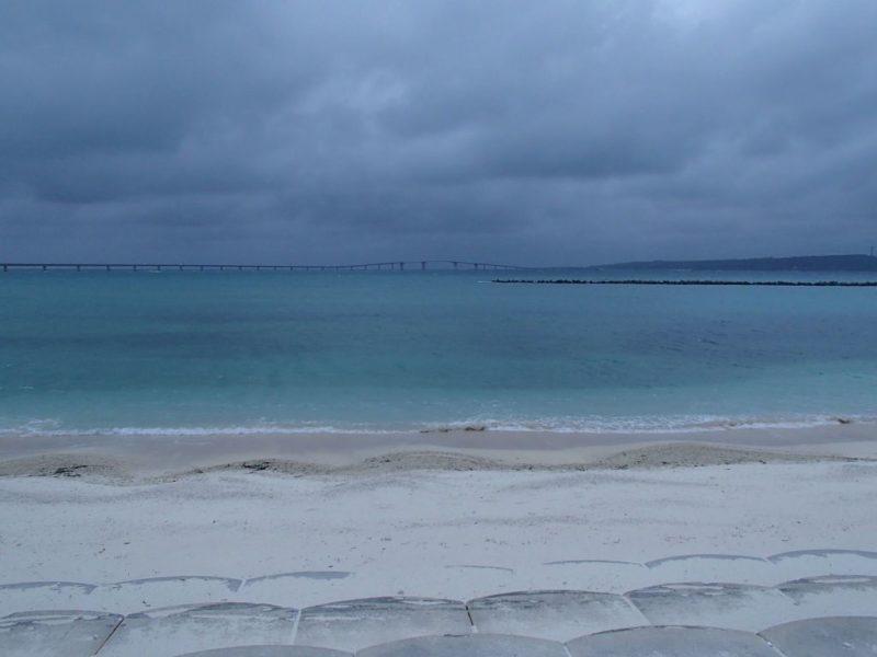 宮古島のサンセットビーチ