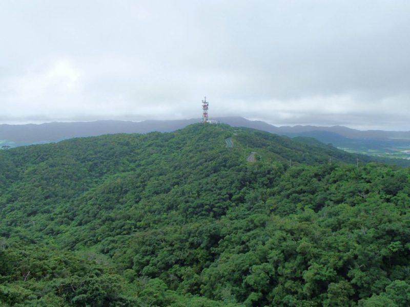 バンナ岳からの眺め