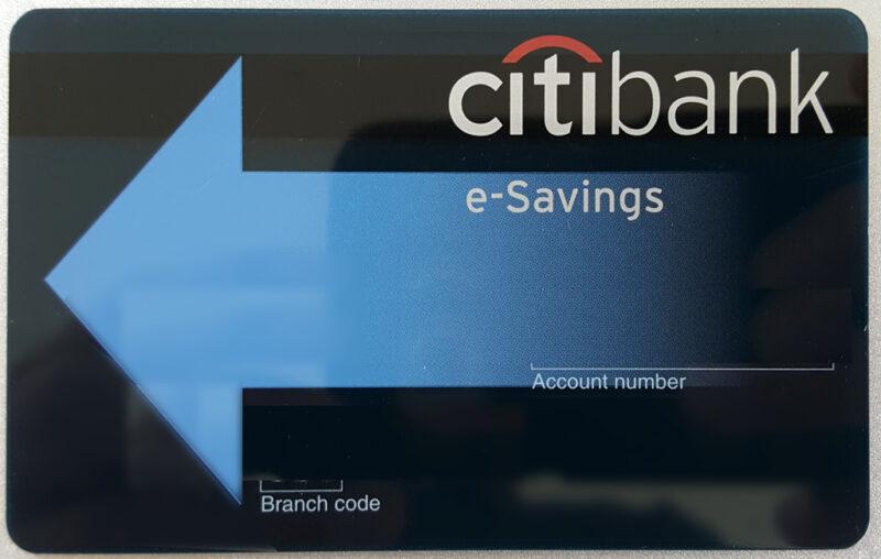 シティバンクのe-Savingsカード