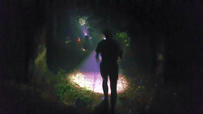 ハセツネの夜間走行