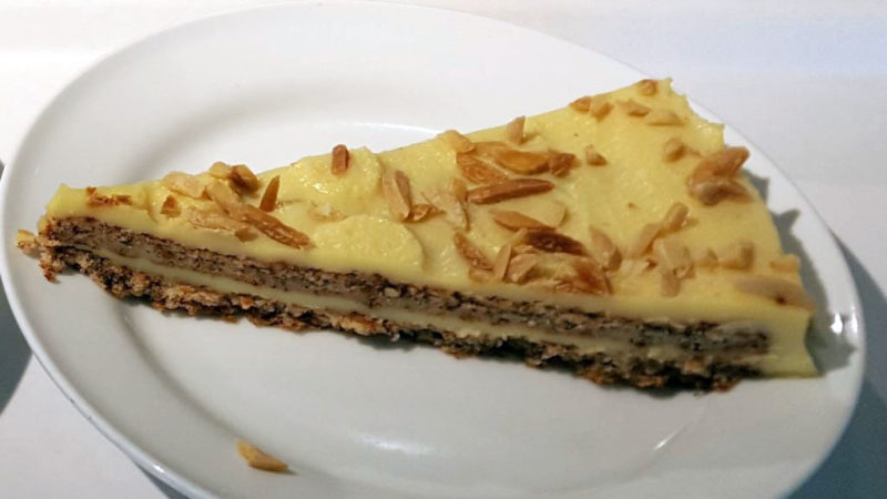 イケアのアーモンドケーキ