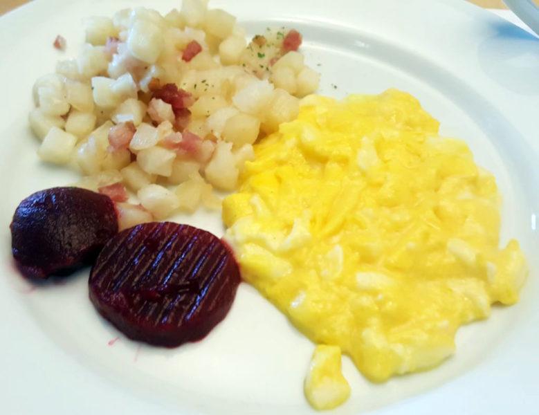 スウェーデンの朝食プレート