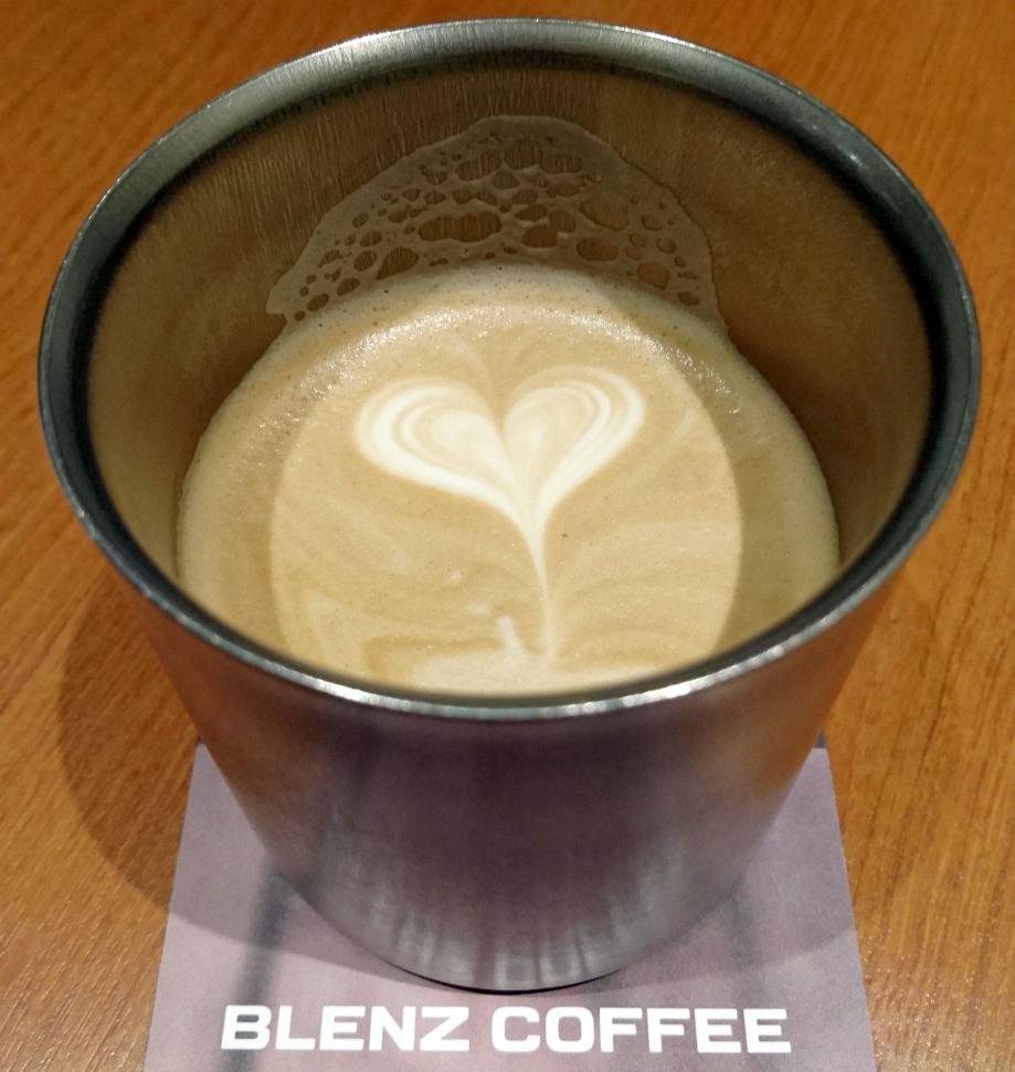 ブレンズコーヒーにマイカップ持参
