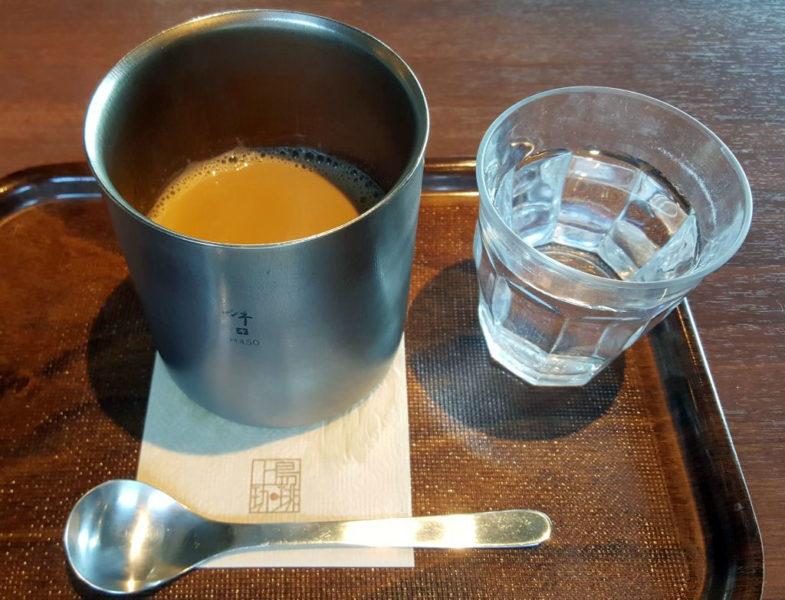 上島のダブルネルドリップ黒糖ミルク珈琲S