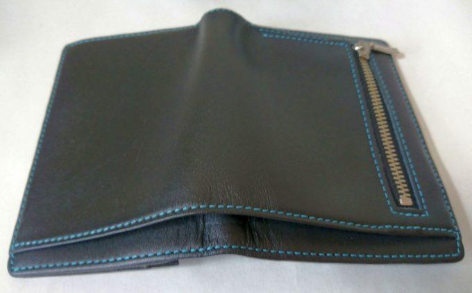 アシュフォードの財布付き手帳、札入れ部分