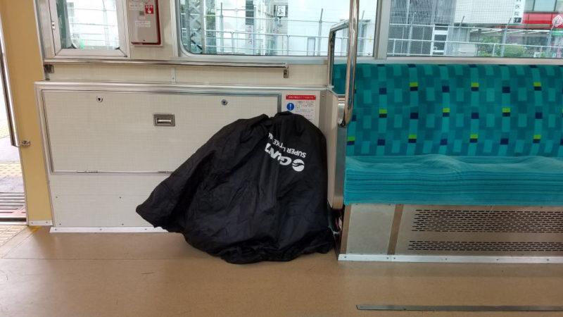 電車に乗せたダホンK3