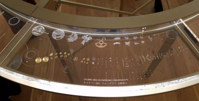 オーデマピゲのキャリバー4401クロノグラフ