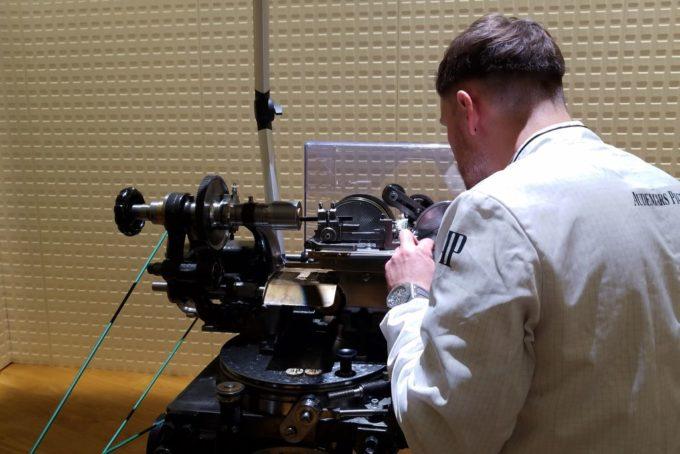 オーデマピゲの工作機械