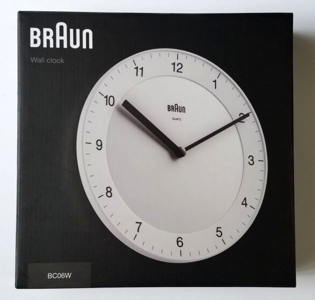 BRAUN BC06のパッケージ
