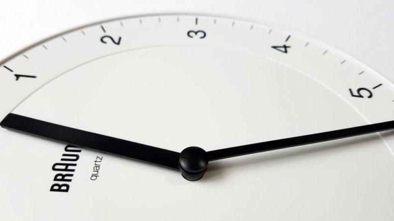 BRAUN BC06の分針・時針