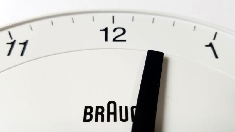 BRAUN BC06の文字盤
