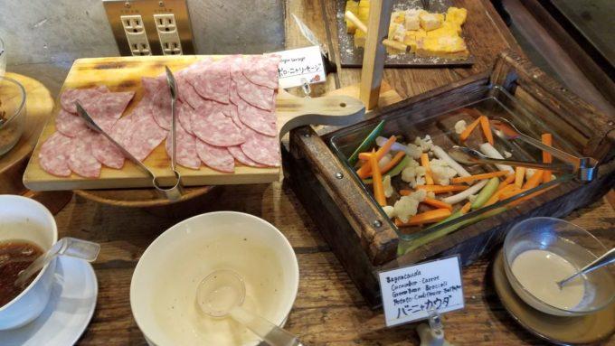 サルヴァトーレ毛利の野菜