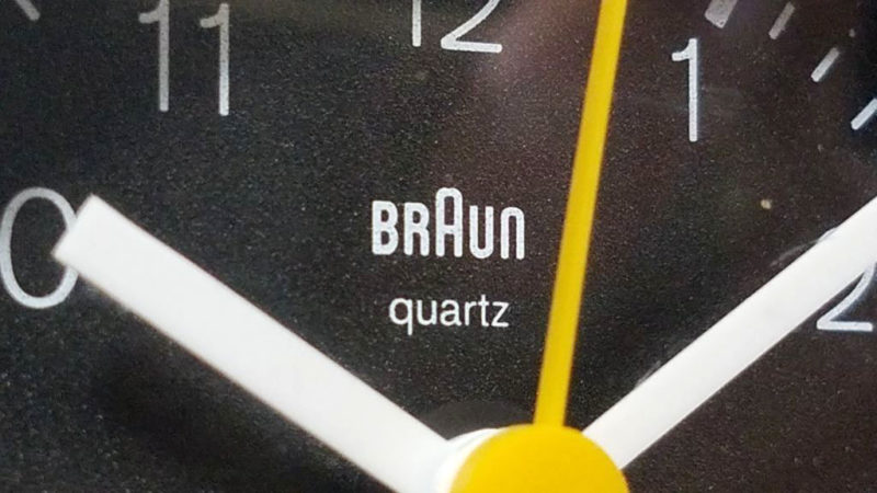 BRAUN AB40slの文字盤
