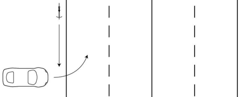 事故の状況、自転車と四輪車の過失割合計算