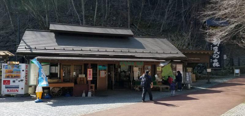 都民の森の売店、とちの実