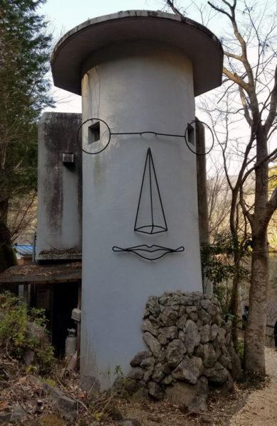 人の顔をした家
